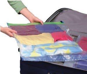 Bolsas para ropa al vac o viaja sin problemas mi for Bolsas para guardar ropa