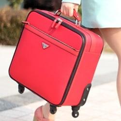 maleta-barata-roja