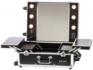 maleta maquillaje negra