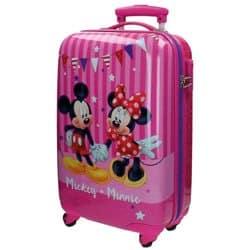 Maleta 4 ruedas Mickey y Minnie - Disney