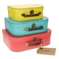 Set de maletas retro - S y B