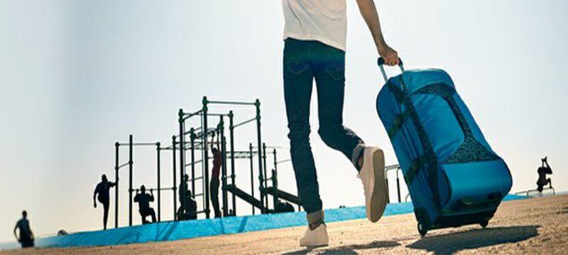2bc7bcf7d Para quienes viajan con frecuencia, el material de la maleta es algo muy  importante. Si te gustan las maletas de tela, vamos a hablarte de sus ...