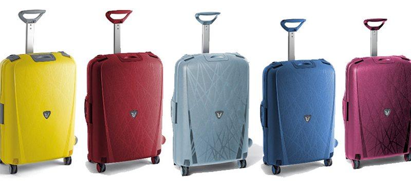 9786ec8e0 La colección Light de Roncato es una colección de maletas ecoamigables,  fabricadas en materiales reciclables y ensambladas de manera que se reduzca  a su ...