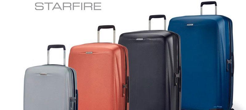 cd6910200 La marca Samsonite ha creado una nueva colección de maletas que son  realmente asombrosas. La colección Starfire de Samsonite presenta en el  mercado ...