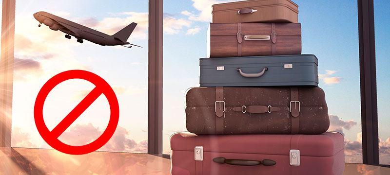 3e4bd4075 ▷ Objetos prohibidos a bordo del avión [cuidado] ❌ | Mi-Maleta.com